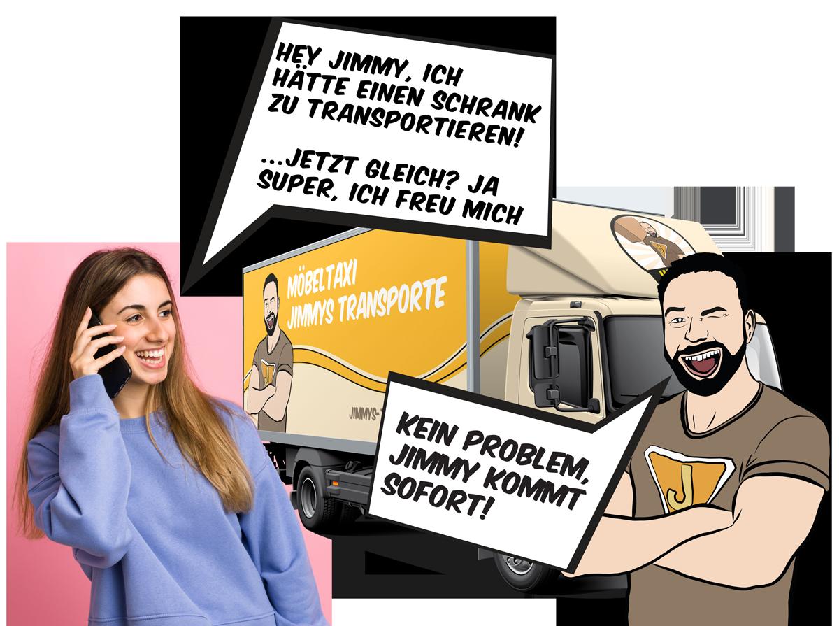 lastentaxi - jimmykommtsofort - Lastentaxi
